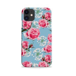 Beautiful Pink Roses iPhone 11 Case Cover