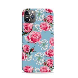Beautiful Pink Roses iPhone 11 Pro Case Cover