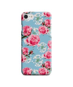 Beautiful Pink Roses iPhone 8 Case Cover