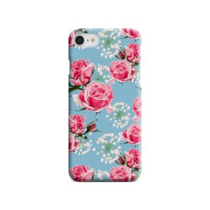 Beautiful Pink Roses iPhone SE Case