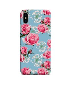 Beautiful Pink Roses iPhone X / XS Case Cover