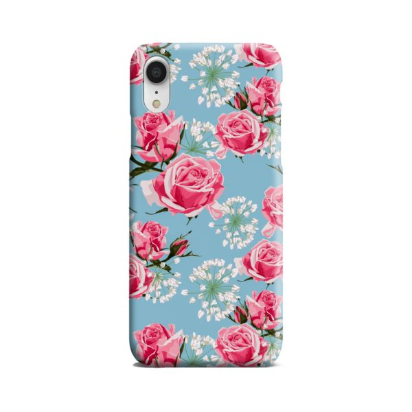 Beautiful Pink Roses iPhone XR Case