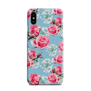 Beautiful Pink Roses iPhone XS Max Case Cover