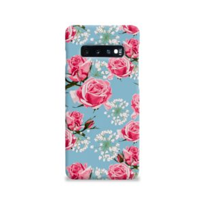 Beautiful Pink Roses Samsung Galaxy S10 Case Cover