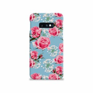 Beautiful Pink Roses Samsung Galaxy S10e Case Cover