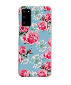 Beautiful Pink Roses Samsung Galaxy S20 Case
