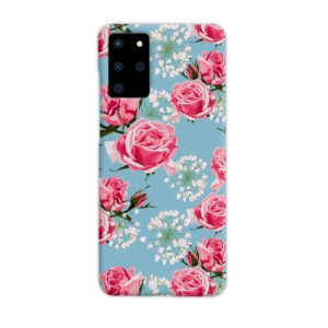 Beautiful Pink Roses Samsung Galaxy S20 Plus Case Cover