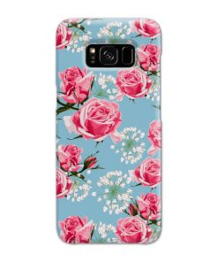 Beautiful Pink Roses Samsung Galaxy S8 Case Cover