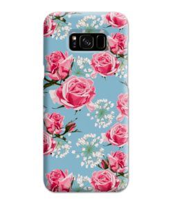 Beautiful Pink Roses Samsung Galaxy S8 Plus Case Cover