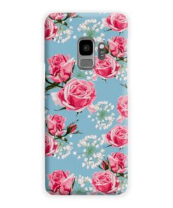Beautiful Pink Roses Samsung Galaxy S9 Case Cover