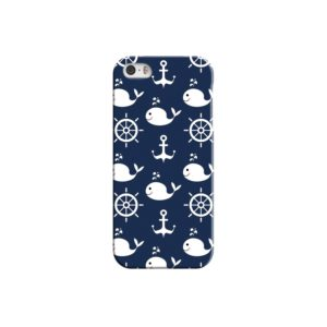 Blue Nautical Anchor Marine Sea iPhone 5 Case