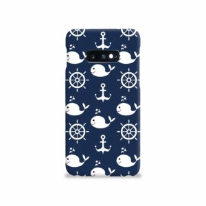 Blue Nautical Anchor Marine Sea Samsung Galaxy S10e Case