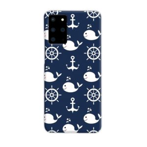 Blue Nautical Anchor Marine Sea Samsung Galaxy S20 Plus Case Cover