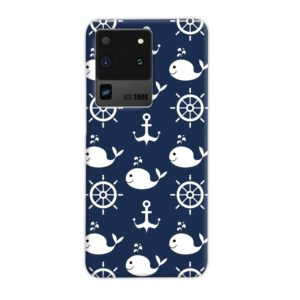 Blue Nautical Anchor Marine Sea Samsung Galaxy S20 Ultra Case