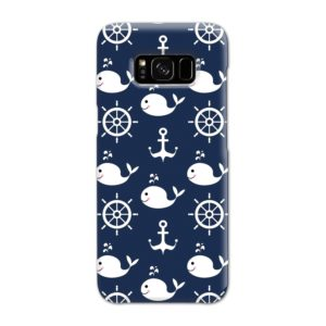 Blue Nautical Anchor Marine Sea Samsung Galaxy S8 Case Cover