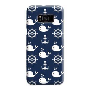 Blue Nautical Anchor Marine Sea Samsung Galaxy S8 Plus Case Cover