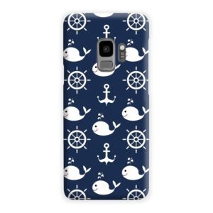 Blue Nautical Anchor Marine Sea Samsung Galaxy S9 Case