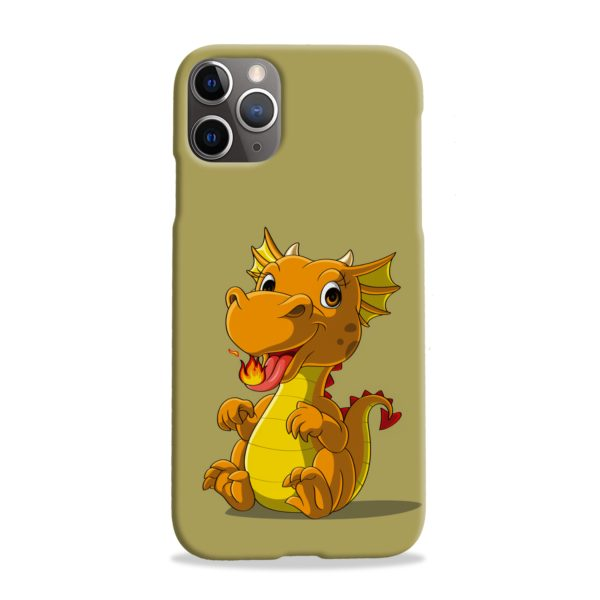 Cute Baby Fire Dragon iPhone 11 Pro Max Case Cover