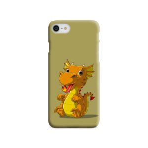 Cute Baby Fire Dragon iPhone 8 Case Cover