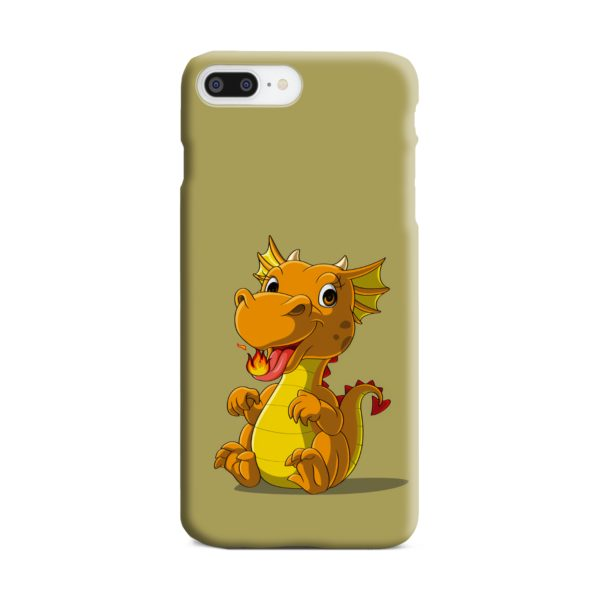 Cute Baby Fire Dragon iPhone 8 Plus Case Cover