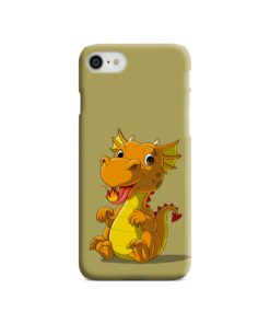 Cute Baby Fire Dragon iPhone SE Case Cover