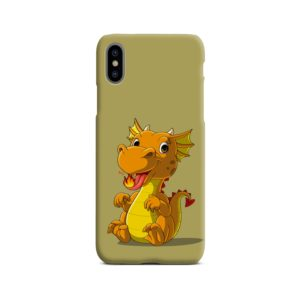 Cute Baby Fire Dragon iPhone X / XS Case