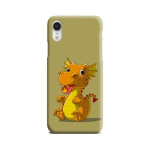 Cute Baby Fire Dragon iPhone XR Case Cover