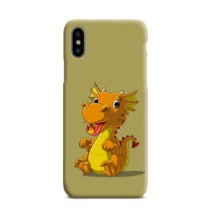 Cute Baby Fire Dragon iPhone XS Max Case