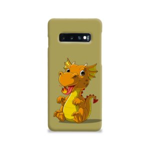 Cute Baby Fire Dragon Samsung Galaxy S10 Case Cover