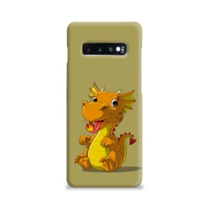 Cute Baby Fire Dragon Samsung Galaxy S10 Plus Case