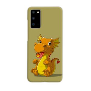 Cute Baby Fire Dragon Samsung Galaxy S20 Case Cover