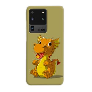 Cute Baby Fire Dragon Samsung Galaxy S20 Ultra Case Cover