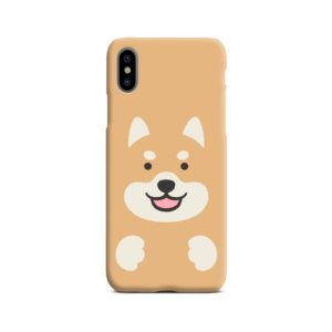 Cute Shiba Inu Dog iPhone X / XS Case