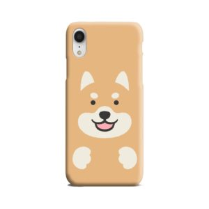 Cute Shiba Inu Dog iPhone XR Case