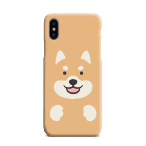 Cute Shiba Inu Dog iPhone XS Max Case