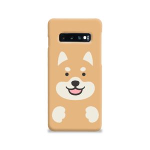 Cute Shiba Inu Dog Samsung Galaxy S10 Case Cover