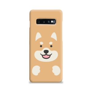 Cute Shiba Inu Dog Samsung Galaxy S10 Plus Case Cover