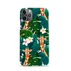 Exotic Giraffe Leaf iPhone 11 Pro Case