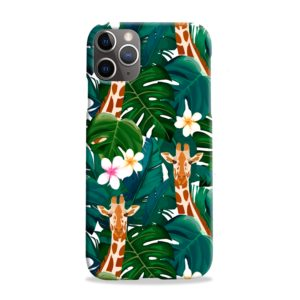 Exotic Giraffe Leaf iPhone 11 Pro Max Case