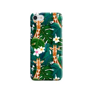 Exotic Giraffe Leaf iPhone 8 Case