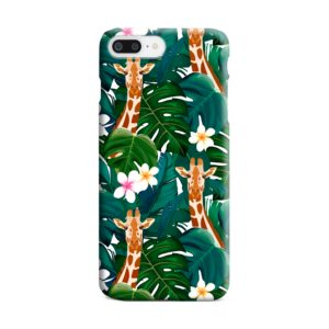 Exotic Giraffe Leaf iPhone 8 Plus Case Cover
