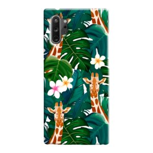 Exotic Giraffe Leaf Samsung Galaxy Note 10 Case