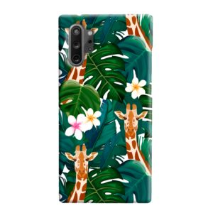 Exotic Giraffe Leaf Samsung Galaxy Note 10 Plus Case