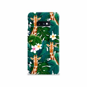 Exotic Giraffe Leaf Samsung Galaxy S10e Case Cover