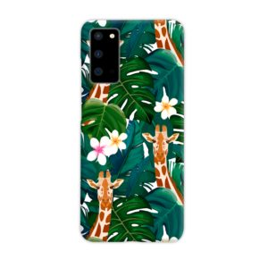 Exotic Giraffe Leaf Samsung Galaxy S20 Case