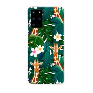 Exotic Giraffe Leaf Samsung Galaxy S20 Plus Case Cover