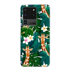 Exotic Giraffe Leaf Samsung Galaxy S20 Ultra Case