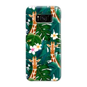 Exotic Giraffe Leaf Samsung Galaxy S8 Case Cover