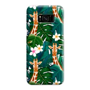 Exotic Giraffe Leaf Samsung Galaxy S8 Plus Case Cover