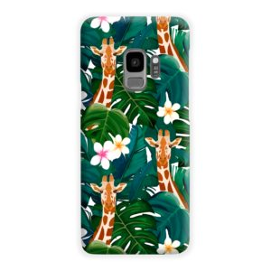 Exotic Giraffe Leaf Samsung Galaxy S9 Case